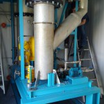Sulphuric acid scrubber